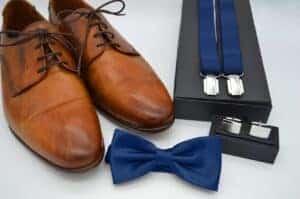 men's accessories, shoes, suspenders