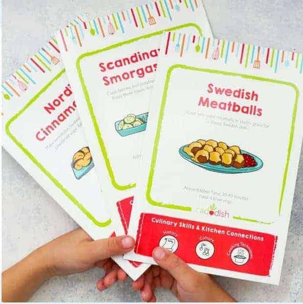 3 recipe guides